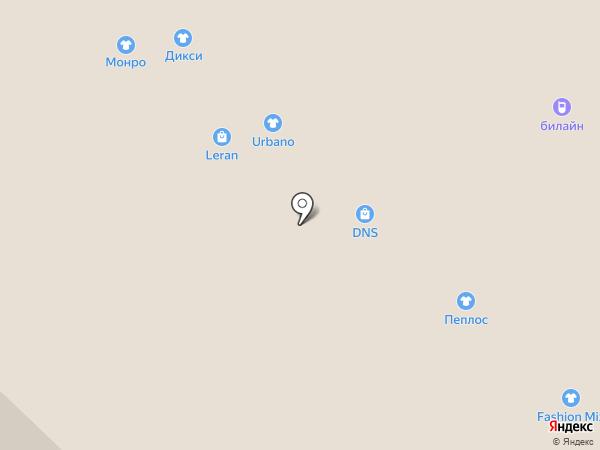 The Mix на карте Бийска