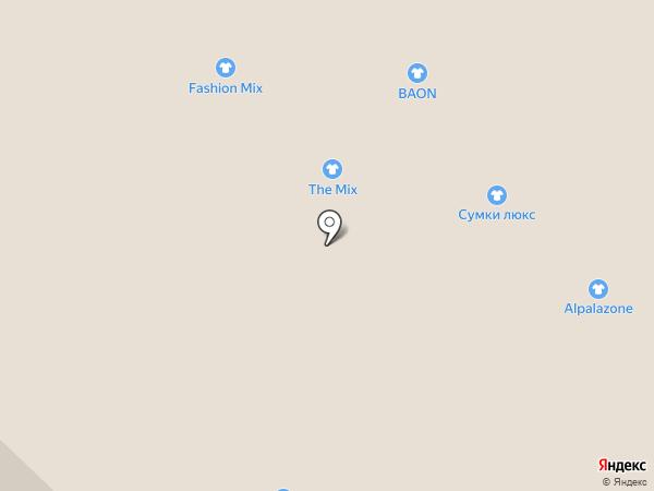 Империя Сумок на карте Бийска