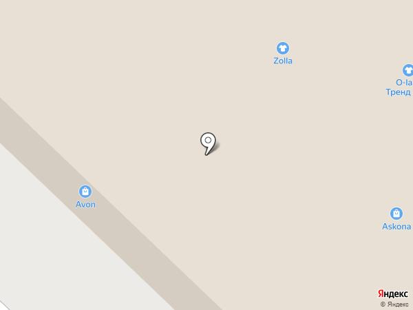 Zolla на карте Бийска