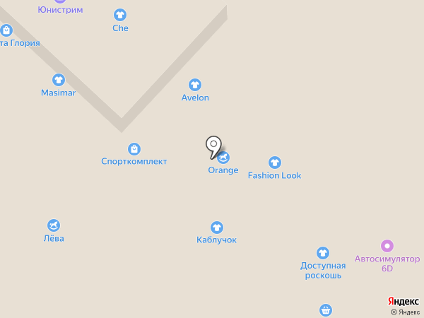 Магазин жареного мороженого на карте Бийска