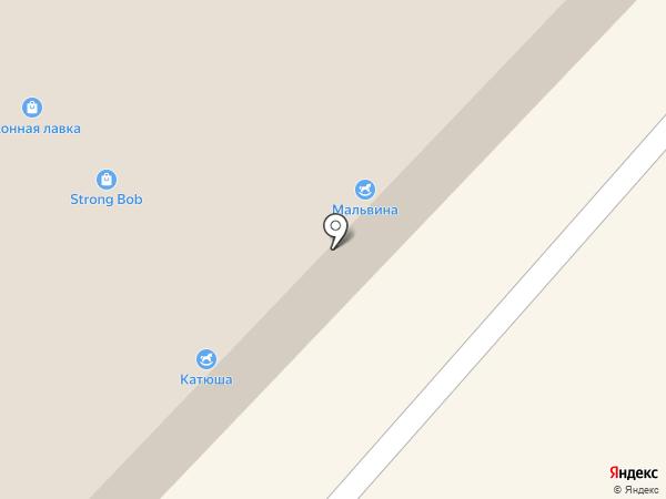 Мальвина на карте Бийска