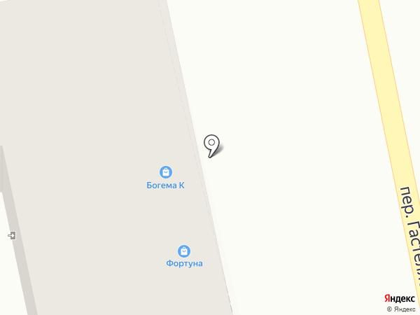 Богема К` на карте Бийска