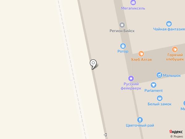 Смайлвилль на карте Бийска