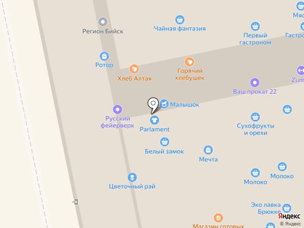 Parlament на карте Бийска