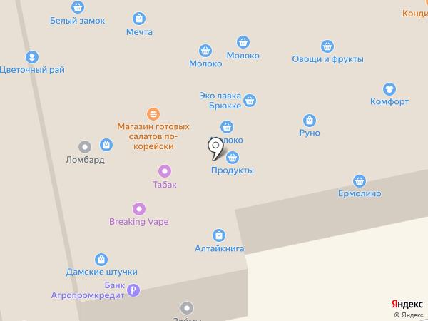 Алтайкнига на карте Бийска