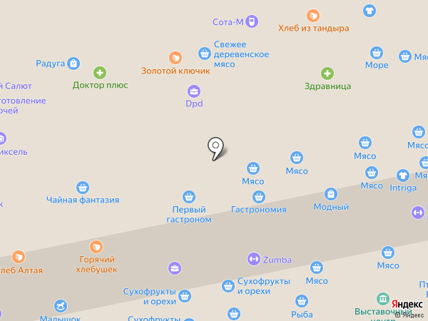 Дикий Запад на карте Бийска