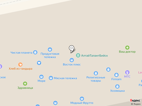 АлтайТалантБийск на карте Бийска