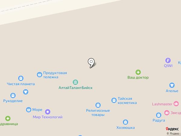 СПОРТкомплект на карте Бийска