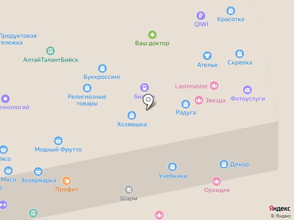 Атака на карте Бийска