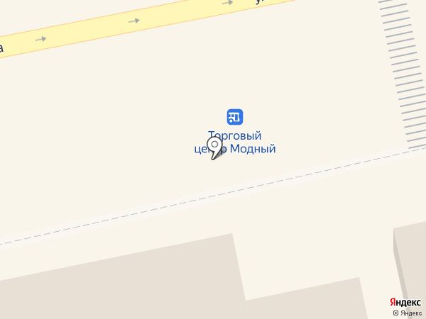 Снежный городок на карте Бийска