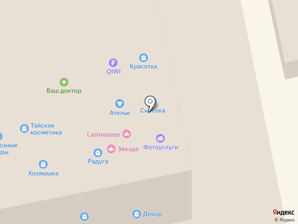 Сота-М на карте Бийска