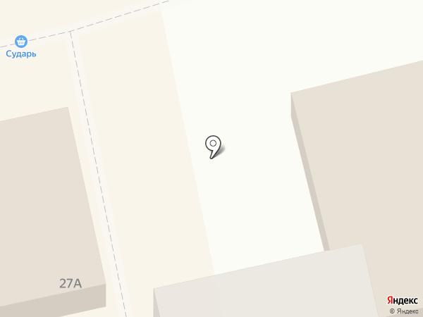 Нагорный территориальный отдел Администрации г. Бийска на карте Бийска