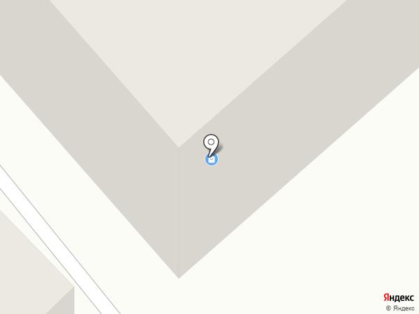Центр пол на карте Бийска