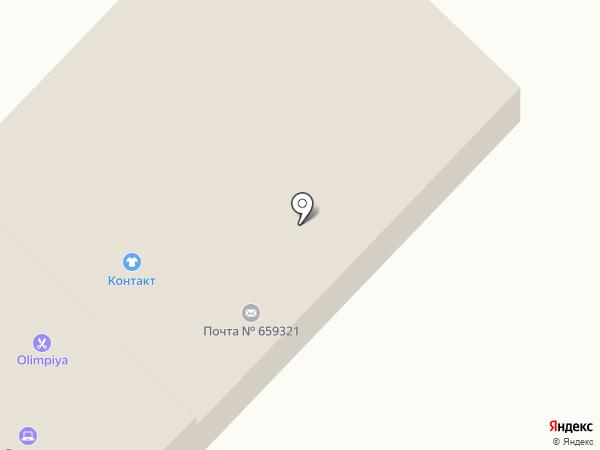 Почтовое отделение №21 на карте Бийска