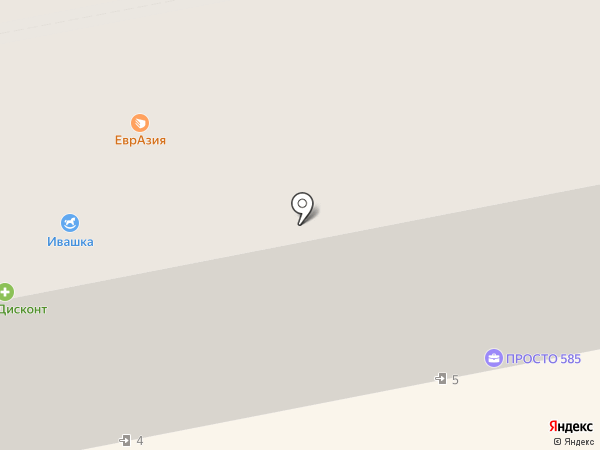 Ивашка на карте Бийска