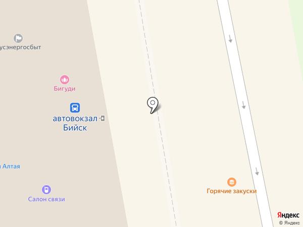 Агентство безопасности на карте Бийска
