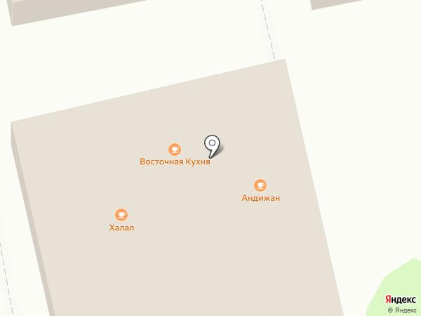 Халал на карте Бийска