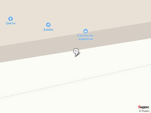 Бемби на карте Бийска