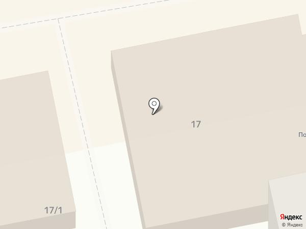 Стела на карте Бийска