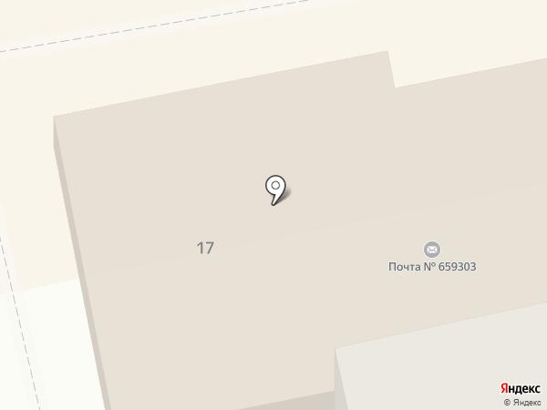 По кружке на карте Бийска