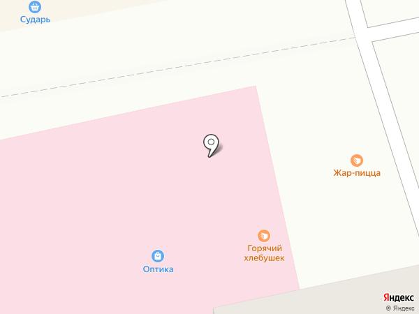 Оптика №2, МУП на карте Бийска