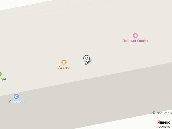 Белая Тара на карте Бийска