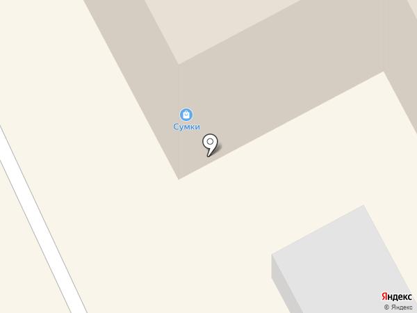 Ворсин на карте Бийска