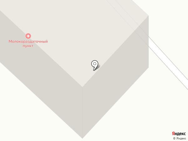 Молокораздаточный пункт на карте Бийска
