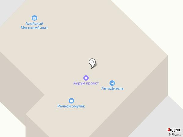 АвтоДизель на карте Бийска