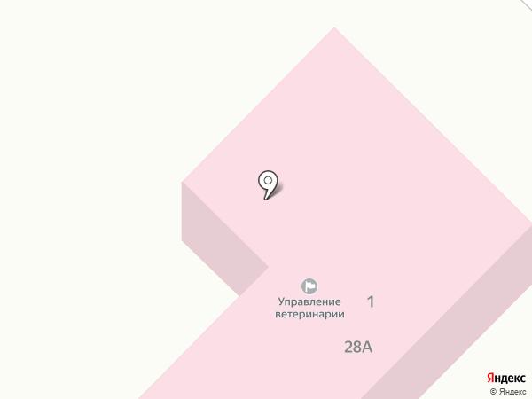 Центральная ветеринарная лечебница на карте Бийска