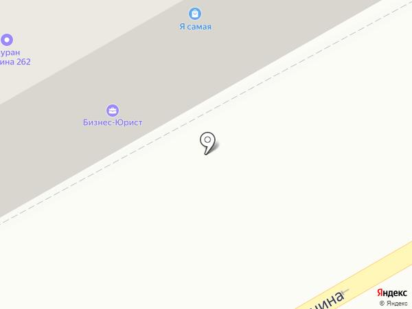 Буран на карте Бийска