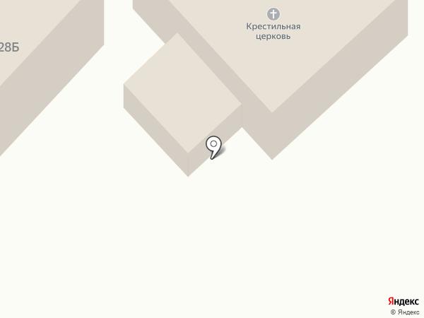 Свято-Макарьевский крестильный храм на карте Бийска