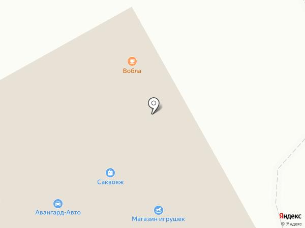 Вобла на карте Бийска