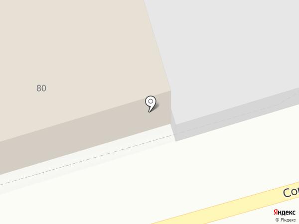 Строительный центр на карте Бийска