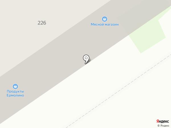 Кристалл на карте Бийска