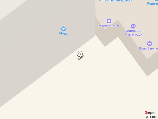 Муза на карте Бийска