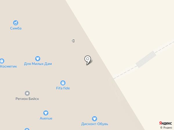 Камелия на карте Бийска