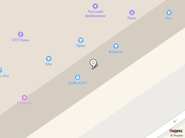 Компоtt на карте Бийска