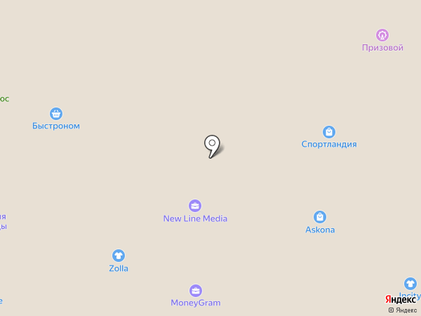 Банк горящих туров на карте Бийска