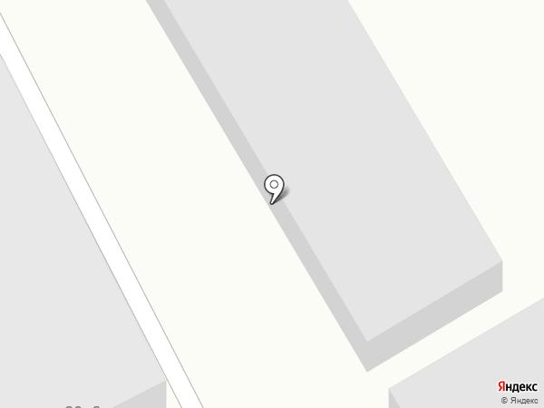 Индустриальный на карте Бийска