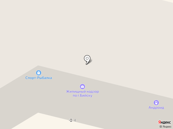 Навигатор на карте Бийска