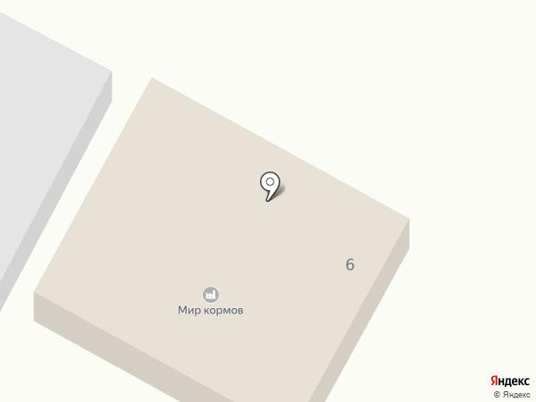 Дачный на карте Бийска