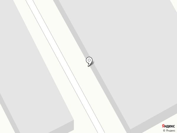 Гаражно-строительный кооператив №8 на карте Бийска