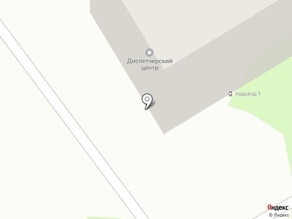 Городской транспортный диспетчерский центр, МУП на карте Бийска