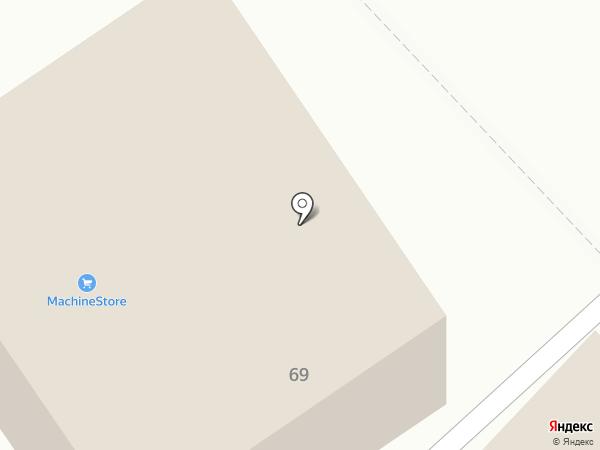 ВелоМоторс на карте Бийска