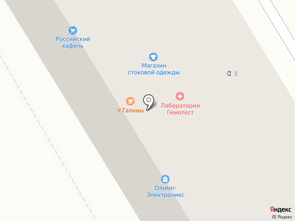 Улар на карте Бийска