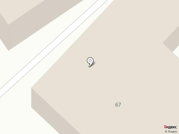 Тополек на карте Бийска