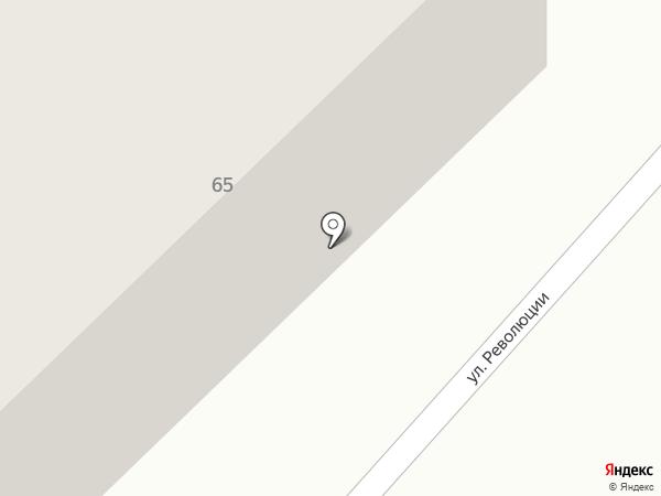 Бийские МЭС на карте Бийска