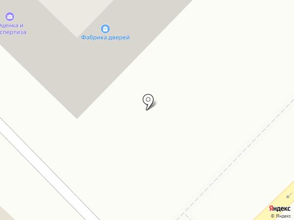 Фабрика дверей на карте Бийска