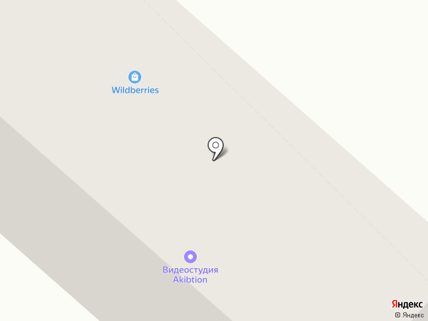 Акибтион на карте Бийска